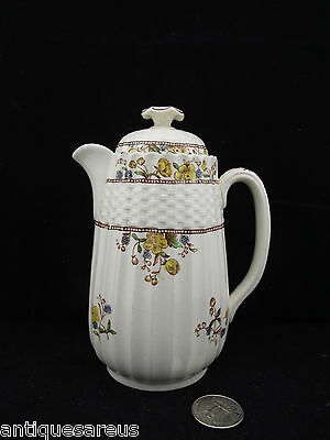 "Copeland Spode Buttercup 5"" Hot Water With Lid Older Backstamp"