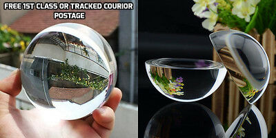 Clear Glass Bubble Glass marble - ideal for Vase decoration Magnifying
