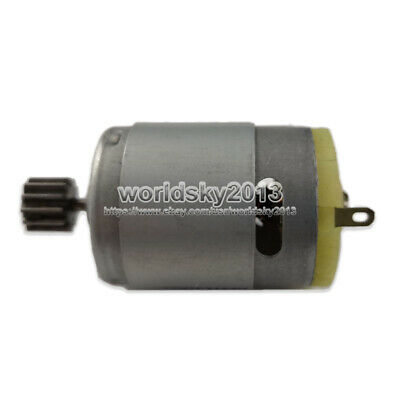 1pc DC12V 15000rpm RS380 High Speed Brush DC Motor for RC Toy Car Boat with Gear