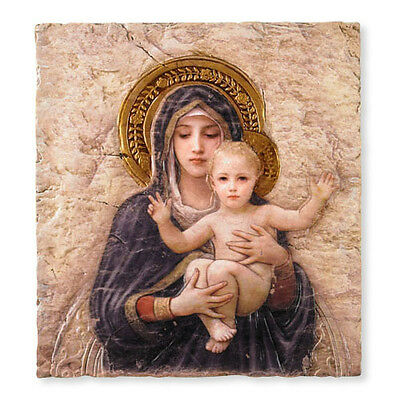 Bouguereau's Madonna And Child Tile Plaque