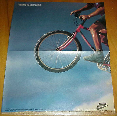 1992 Nike ACG Air Mowabb Outdoor Cross Training Shoe Large 2 Page Ad #030317