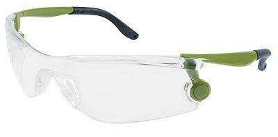 Unique Design Mantis Safety Glasses Green / Clear Free Expedited Shipping