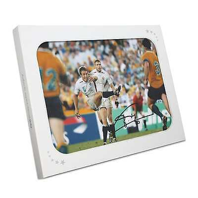 Jonny Wilkinson Signed 2003 Rugby World Cup Photo: Moment Of Glory. Gift Box
