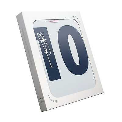 Jonny Wilkinson Signed England Number 10 Rugby Shirt Gift Box Memorabilia