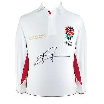 Jonny Wilkinson Signed England Rugby Shirt Collectables Memorabilia Autographed