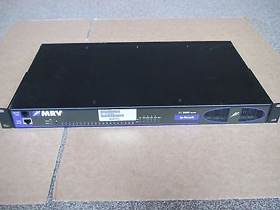 MRV In Reach LX Serie LX-8020S-102AC-R 20-Port Dual AC PSU Terminale Server