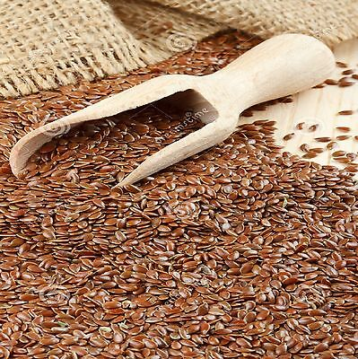Organic Brown Flaxseeds (Linseeds Raw Whole) 100g  to 1.5kg