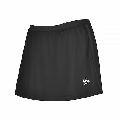 Dunlop Club Girls Skort Black NEU UVP 24,95€