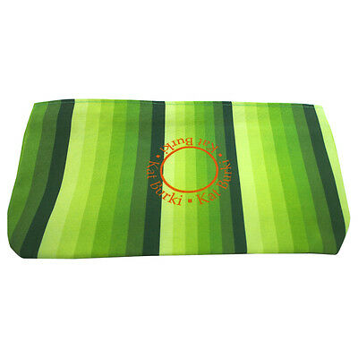 Stripe Travel Case - Green by Kat Burki for Women - 1 Pc Bag