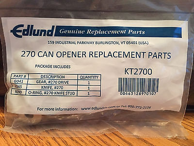 Edlund - KT2700 - 270 Knife and Gear Replacement Kit Can Opener Parts