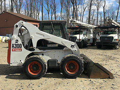 2007 Bobcat A300 All Wheel Steer Skid Steer