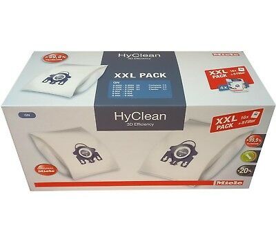 Miele Staubbeutel XXL Pack - HyClean 3D Efficiency - Typ GN - BLAU – original
