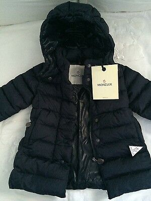 Moncler Baby Jacket New w/ Tags Navy Blue 9-12 months