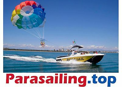 Parasailing.top Domain Name for TOP PARASAILING SERVICES Company Busines Website