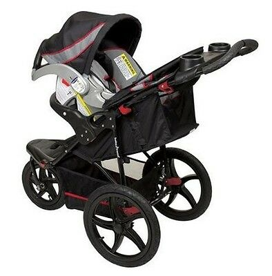 Baby Trend Expedition Compact All Terrain Travel Jogger Stroller, Millennium New