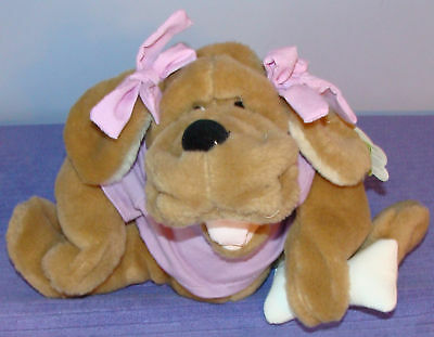 """Ganz Wrinkles Puppet Sandy H5004 W/tags 9"""" Tall ~ Z"""