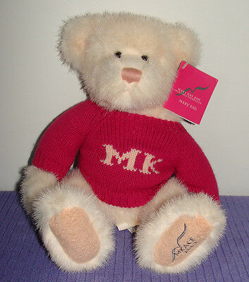 Russ Mary Kay Ash Charitable Foundation Bear 2003 New With Tags  950378 Vhtf ~Dq