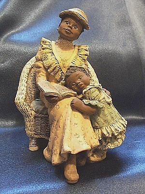 Sarah's Attic #98 Forever Friends Mother Woman Child Daughter Black Africana