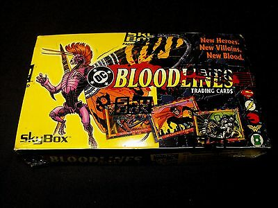 Bloodlines Heroes Villains New Blood Dc Comic Sealed Box Comic L@@k