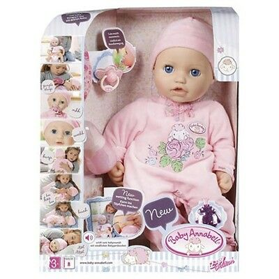 Baby Annabell Doll Latest Version 10 - Wetting function Zapf Creation - NEW!