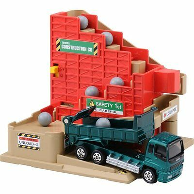 Takara Tomy Tomica Town Play Charge Construction Site Stepping Conveyer Toys