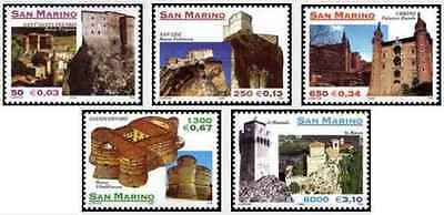 Timbres St Marin 1650/4 ** année 2000 lot 18891