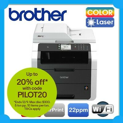 Brother MFC-9330CDW/9335CDW 4in1 Color Laser Wireless Printer+ADF /w TN251 *RFB*
