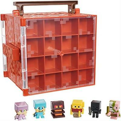 Minecraft Mini-Figure Nether Collector Case Accessory Toy Play Mattel MYTODDLER