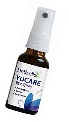 Lintbells YuCARE Silver Eye Spray with Natural Antibacterial Action (20ml)