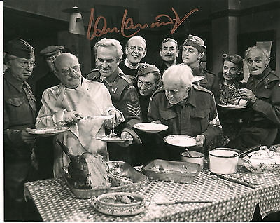 IAN LAVENDER Dad's Army Original Hand Signed Autograph 8x10 Photo 1