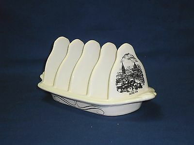 Vintage SylvaC Oxford 1874 ceramic toast rack 3299 collectable kitchenware