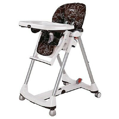 NEW Peg Perego Prima Pappa Diner High Chair ~ NEW Savana Cacao Brown