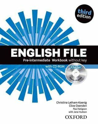 English File: Pre-Intermediate: Workbook with iChecker Without Key 9780194598729