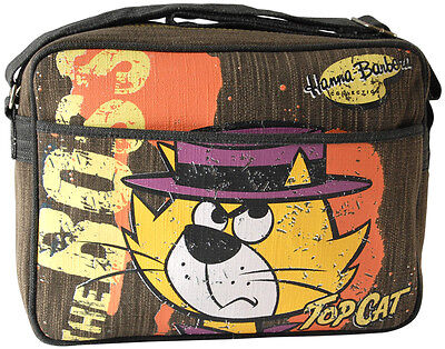 NEW Retro / Vintage Top Cat The Boss - Hanna Barbera Denim Sports / Shoulder Bag