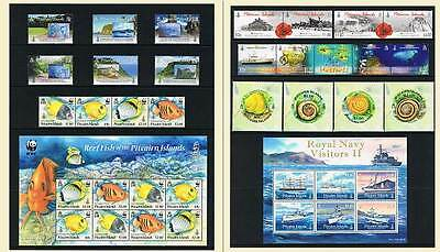 Pitcairn Islands 2010 Year Complete All Commemoratives Mnh