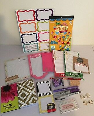 Planner Supplies Lot Target One Spot Michaels Notepads Page Flags Stationery