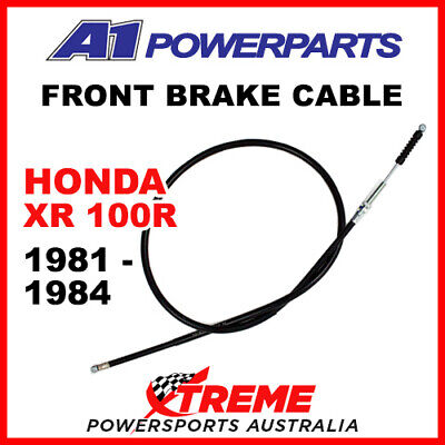 A1 Powersports Honda XR100R XR 100R 1981-1984 Front Brake Cable 50-176-30