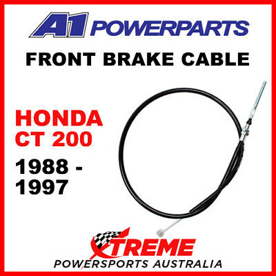 A1 Powersports Honda CT200 CT 200 1988-1997 Front Brake Cable 50-437-30