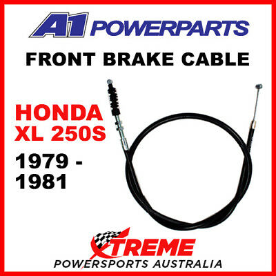 A1 Powersports Honda XL500S XL 500S 1979-1981 Front Brake Cable 50-435-30