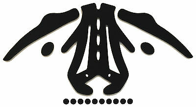 Aftermarket Replacement Foam Pads Cushions Liner For Troy Lee Designs A1 Helmet