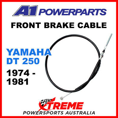 A1 Powersports Yamaha DT250 DT 250 1974-1981 Front Brake Cable 51-086-30