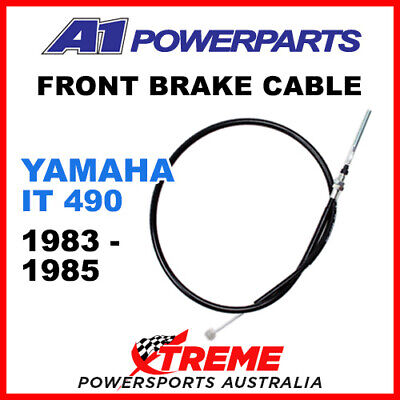 A1 Powersports Yamaha IT490 IT 490 1983-1985 Front Brake Cable 51-025-30