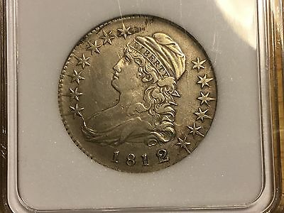 1812/11 Capped Bust Half Dollar Small 8 NO RESERVE FREE SHIPPING! OVERDATE!!!