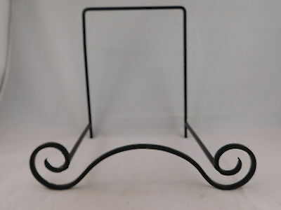 "One Very Nice Extra Large 9"" x 7"" x 10"" Black Iron Metal Display Stand!"