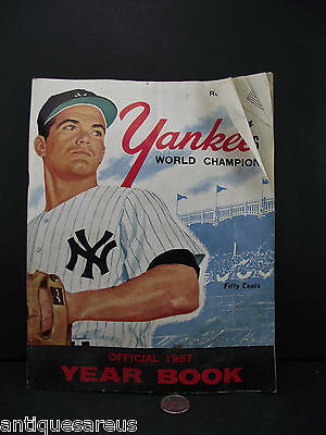 Yankees World Champion Official 1957 Year Book