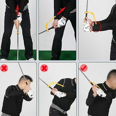 Training Beginner Golf Swing  Tools Guide Gesture Alignment