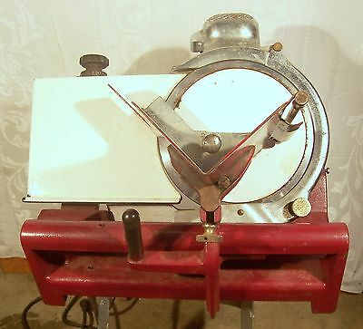 Globe Commercial Meat Slicer Model 8277- Vintage- Heavy weight