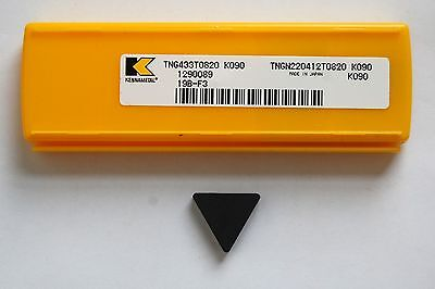 Insert Tng 433T 0820 Kennametal Ceramic Grade K090 New Pack Of 5 Pcs