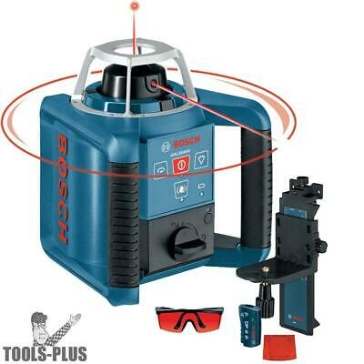 Self-Leveling Rotary Laser with Layout Beam Bosch Tools GRL300HV New