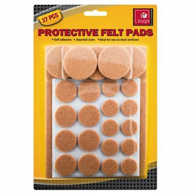 Protective Felt Pads Floor Self Adhesive Sticky Furniture Round Wood Anti Skid